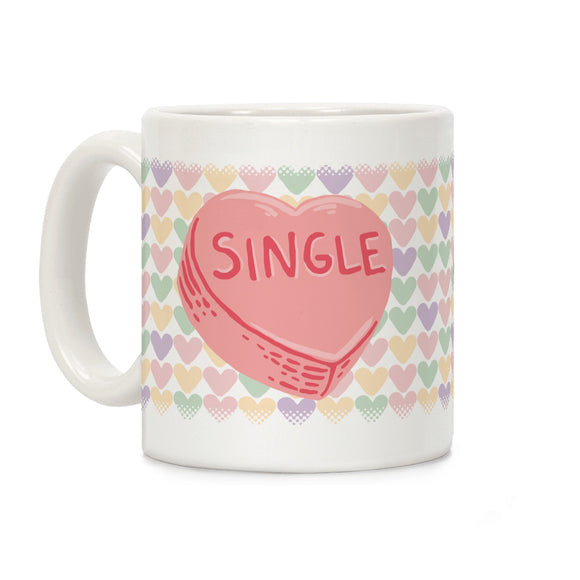 single,conversation,candy,heart,Valentine's,valentine.coffee,mug,cup,ceramic
