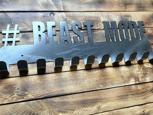# Beast Mode Steel Medal Display Hanger