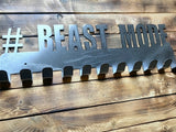 gift,home decor,beast mode,wall art,medal display,steel,handmade,made in USA,metalwork