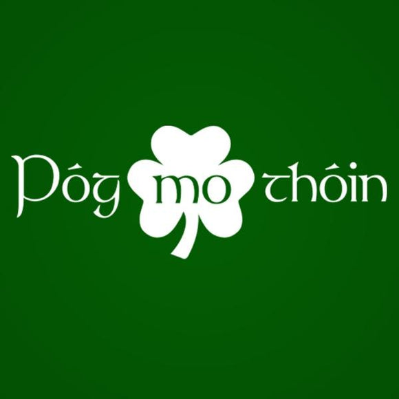 pog,mo,thoin,kiss,my,arse,tee,shirt,st,patricks,day,irish,t-shirt,tshirt,premium,tri,blend,donkey,tees