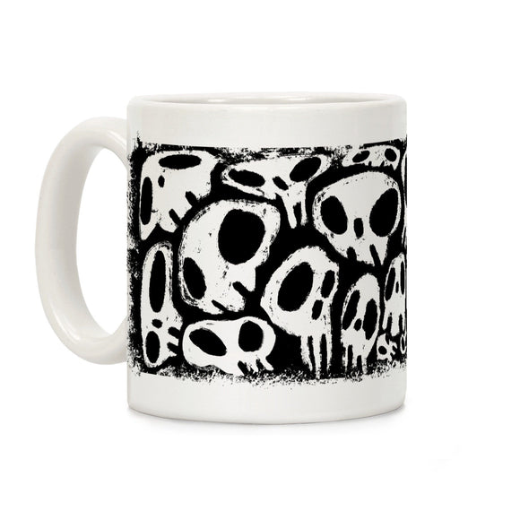 coffee,mug,skeleton,skull,Halloween,lookhuman