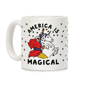 America,magical,unicorn,coffee,mug,cup,ceramic