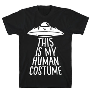 tee,shirt,t-shirt,Halloween,this,my,human,costume