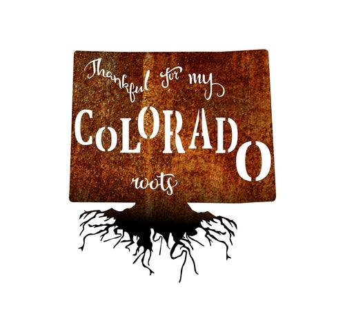 gift,home decor,Colorado,sign,steel,handmade,metalwork