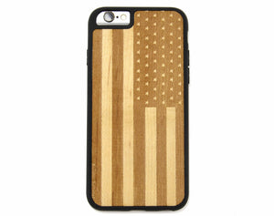 american,flag,wood,iphone,case,cell,silicone