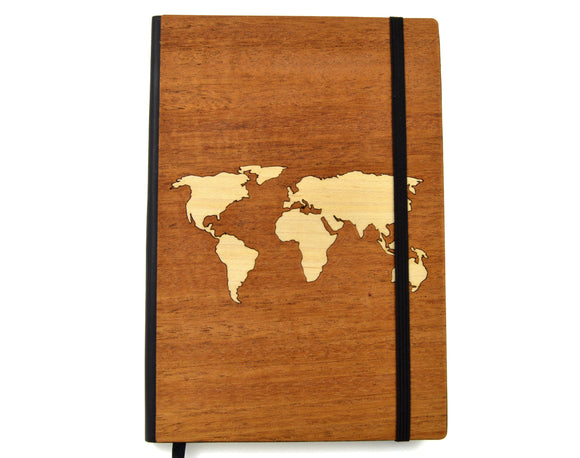 world,map,travel,journal,wood,notebook,handmade,autumn,summer