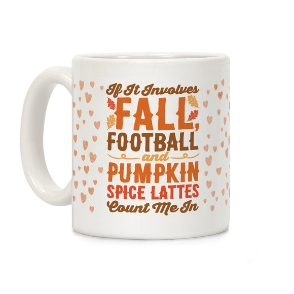 coffee,mug,Halloween,fall,football,pumpkin,spice,latte,cup