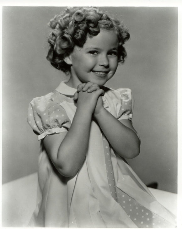 Shirley Temple Vintage Tin Sign 8x10