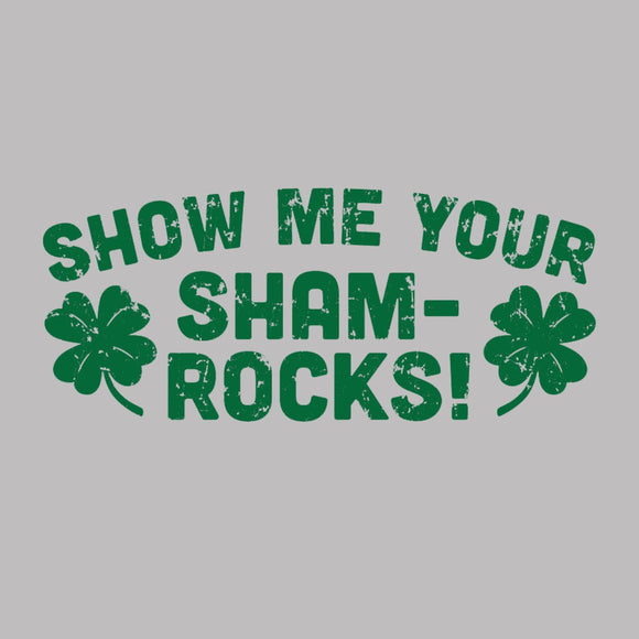 show,me,your,shamrocks,st,patricks,day,sweatshirt,unisex,crewneck,donkey,tees