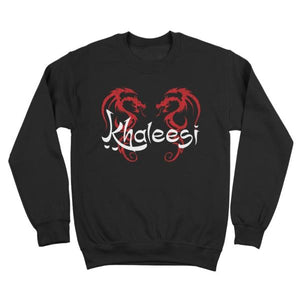 game of thrones,khaleesi,sweatshirt,daenerys,targaryen,dragon