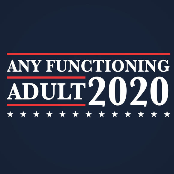 any,functioning,adult,election,2020,tee,shirt,t-shirt,tshirt,unisex,donkey,tees