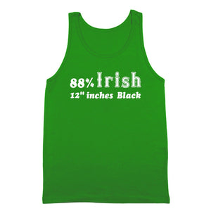 "88%,irish,12"",inches,black,st,patrick's,day,tank,top,shirt,donkey,tees"