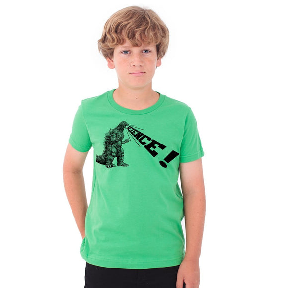 godzilla,science,tee,shirt,kids,t-shirt