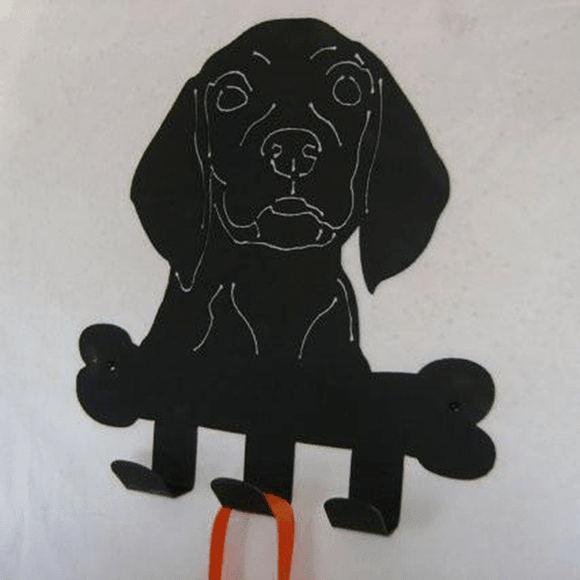 Dog Accessory Hooks Metal Wall Decor