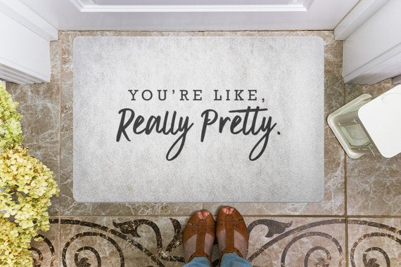 door,mat,welcome,doormat,your like,really,pretty