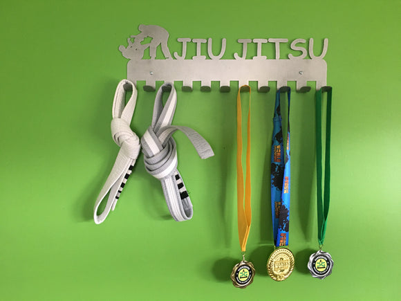 Jiu Jitsu Steel Medal Display Hanger