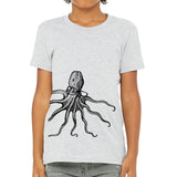 octopus,spectacles,tee,shirt,t-shirt,kids,child