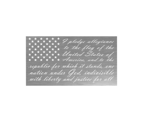 pledge of allegiance,flag,steel,wall,art,home decor,sign,hanging
