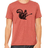 shirt,gift,tee,squirrel,rock and roll,bella,
