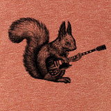 tee,shirt,gift,women,rock and roll,squirrel,bella