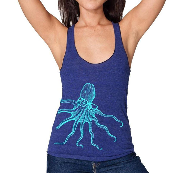 octopus,spectacles,women;s,racerback,tank,top,mission,thread