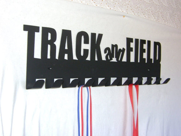 track and field,medal,display,hanger,steel.wall,home decor
