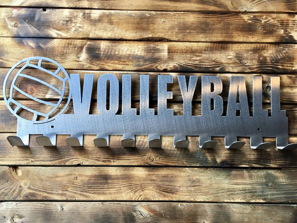 Volleyball Steel Medal Display Hanger