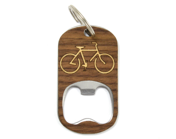 wood,bicycle,keychain,key,chain,bottle,opener,handmade,autumn,summer