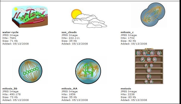 Classroom Clipart: Science Clip Art, Illustrations and Photographs