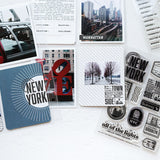 Passport: New York - 4x6 Clear Stamp Set
