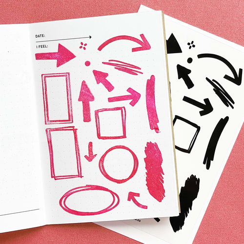Markup - 4x6 Clear Stamp Set