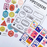 EE x Pipsticks Sticker Pack (3 sheets)
