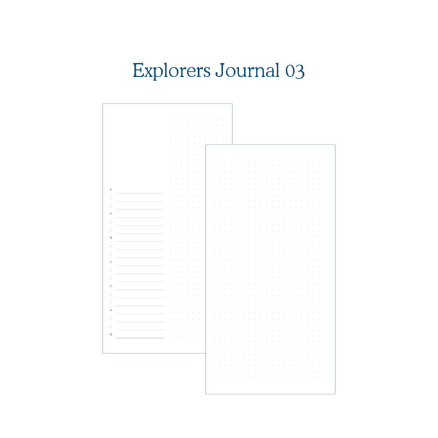 Explorers Journal 03 - TN Insert