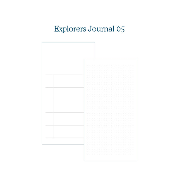 Explorers Journal 05 - TN Insert