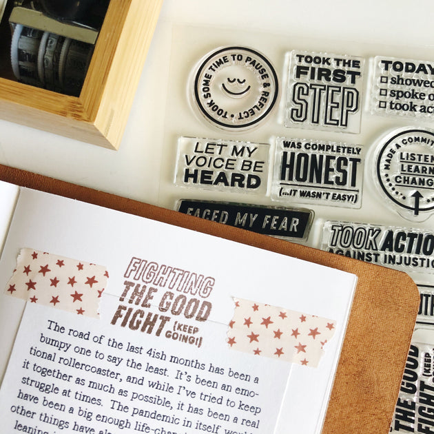 Big Wins - 4x6 Clear Stamp Set