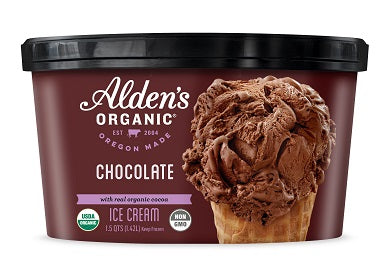 ALDENS ORG QUART CHOCOLATE