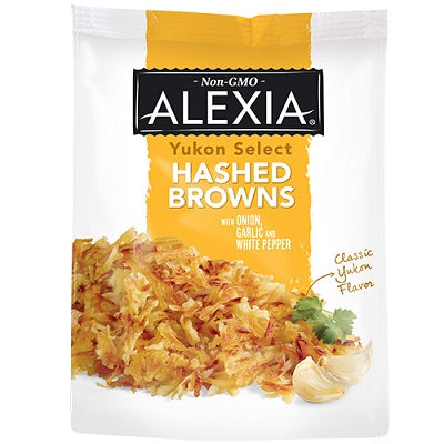 HASHED BROWN SEASONED YUKON SELECT POTATOES