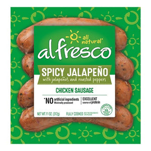 SPICY JALAPENO CHICKEN SAUSAGE