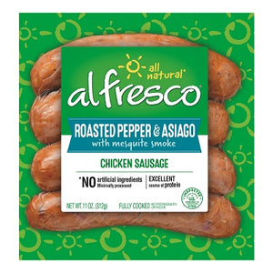 ROASTED PEPPER & ASIAGO CHICKEN SAUSAGE