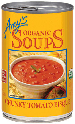 ORGANIC CHUNCKY TOMATO BISQUE SOUP