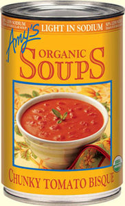 ORGANIC CHUNKY TOMATO BISQUE SOUP