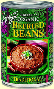 ORGANIC TRADITIONAL REFRIED BEANS