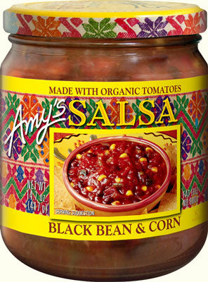 ORGANIC BLACK BEAN & CORN SALSA