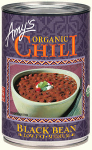 ORGANIC BLACK BEAN LOW FAT & MEDIUM  CHILI