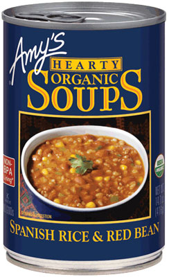 ORGANIC SPANISH RICE & RED BEAN SOUP