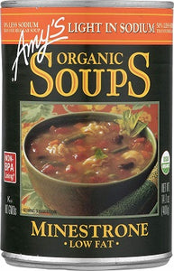 ORGANIC MINESTRONE LOW FAT SOUP