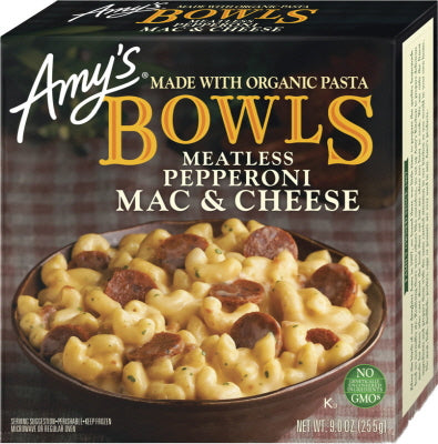MEATLESS PEPPERONI MAC & CHEESE BOWLS