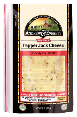 PEPPER JACK CHEESE SLICED