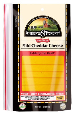 MILD CHEDDAR CHEESE SLICED