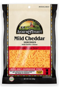 MILD CHEDDAR CHEESE SHREDDED